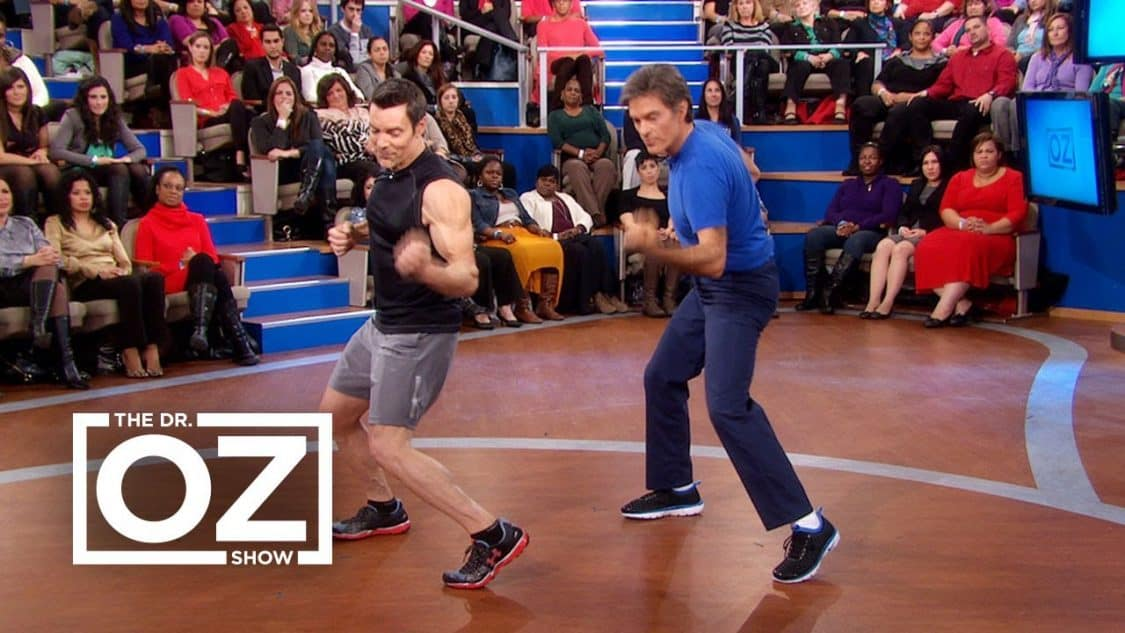 Tony Horton Works Out with Dr. Oz