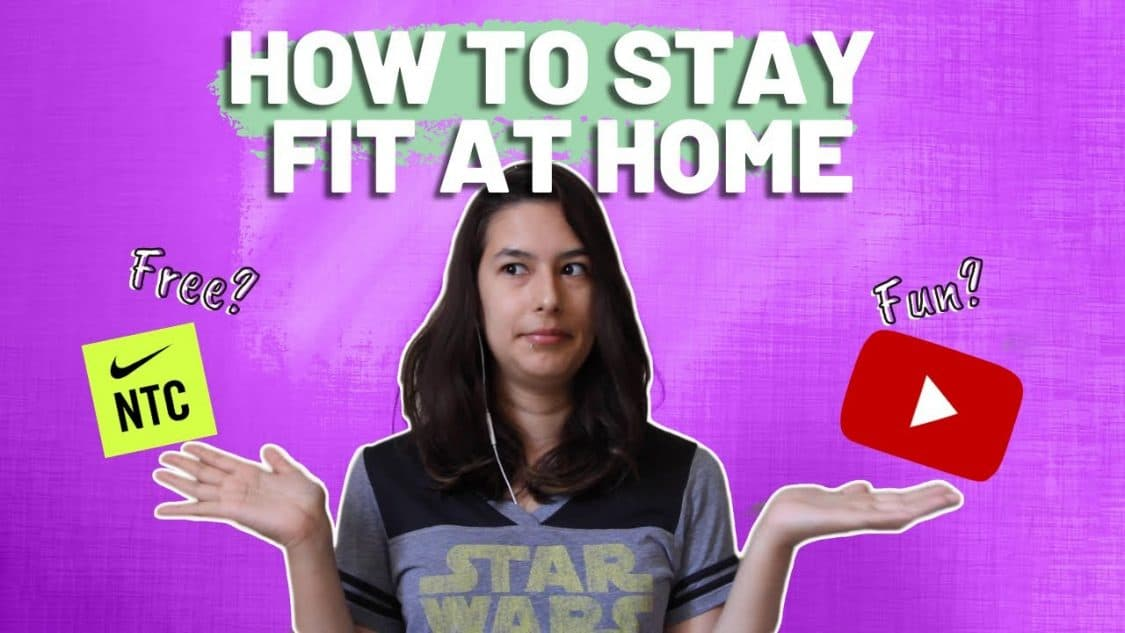 How To Exercise At Home – 3 FUN Ways! [CC]