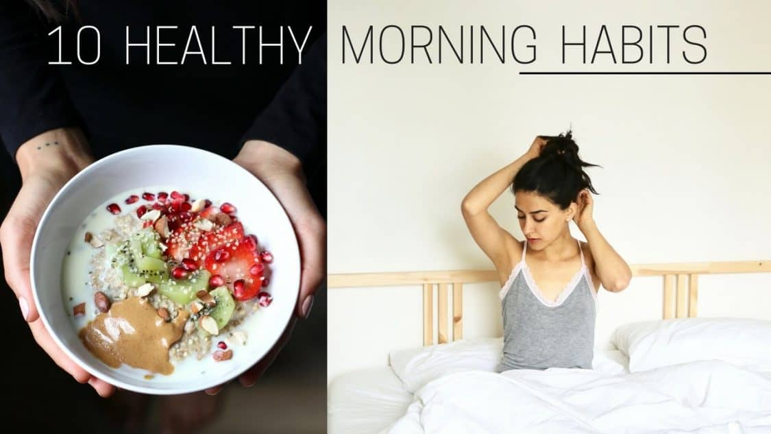 HEALTHY MORNING HABITS » + printable checklist