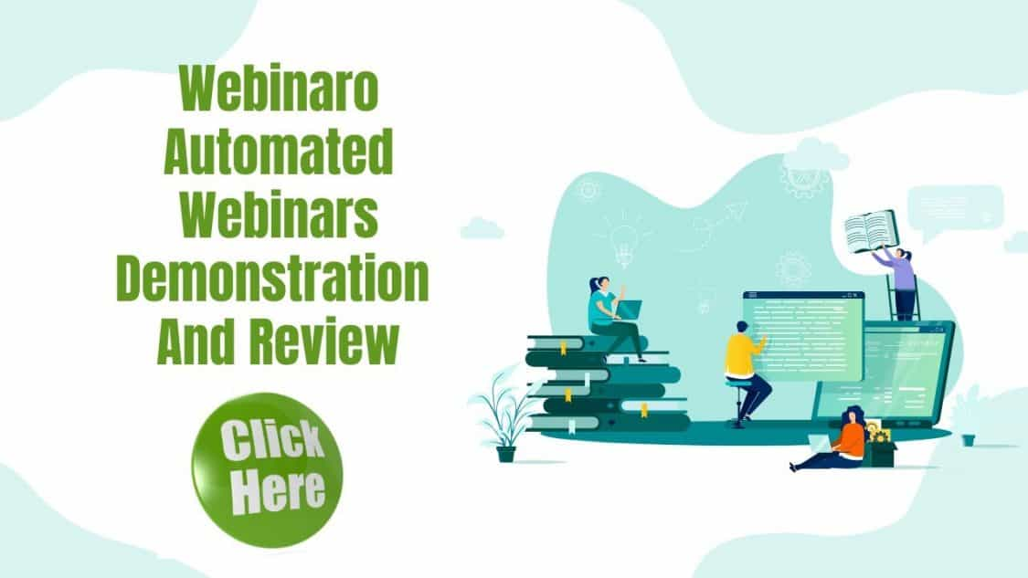Access To Automated Webinars With Webinaro Demo and Review